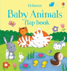 Baby Animals Flap Book, Board book