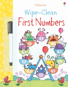 Wipe-Clean First Numbers, Paperback