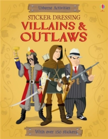 Sticker Dressing Villains & Outlaws, Paperback