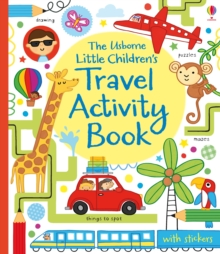 Little Children's Travel Activity Book, Paperback Book