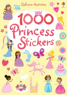 1000 Princess Stickers, Paperback Book