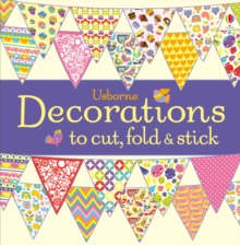 Decorations to Cut, Fold and Stick, Paperback