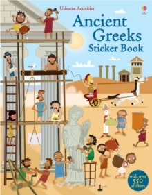 Ancient Greeks Sticker Book, Paperback Book