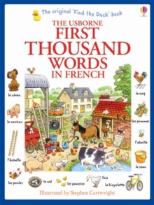 First Thousand Words in French, Paperback Book