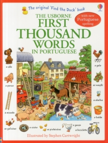 First Thousand Words in Portugese, Paperback Book