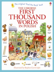 First Thousand Words in Polish, Paperback