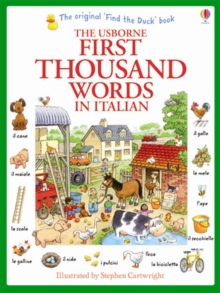 First Thousand Words in Italian, Paperback