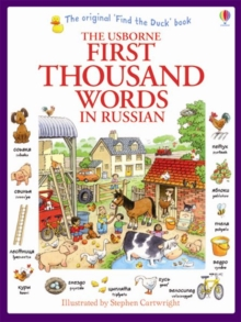 First Thousand Words in Russian, Paperback Book