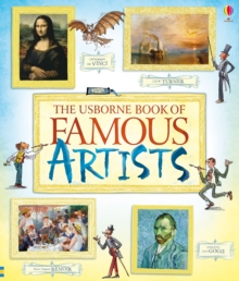 Book of Famous Artists, Paperback Book