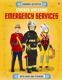 Sticker Dressing Emergency Services, Paperback