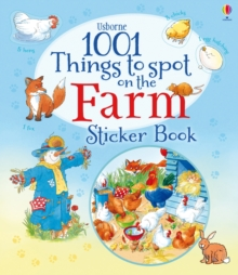 1001 Things to Spot on the Farm Sticker Book, Paperback
