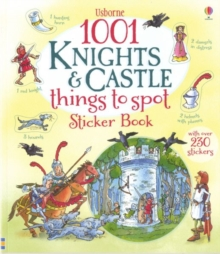 1001 Knights & Castles Things to Spot Sticker Book, Paperback Book