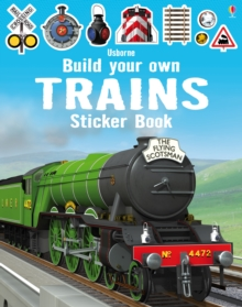 Build Your Own Trains Sticker Book, Paperback