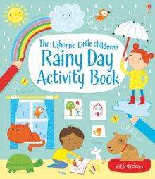 Little Children's Rainy Day Activity Book, Paperback