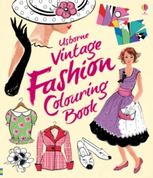 Vintage Fashion Colouring Book, Paperback