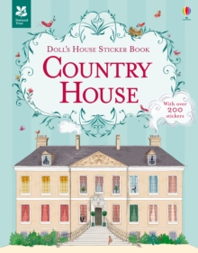 Doll's House Sticker Book Country House, Paperback