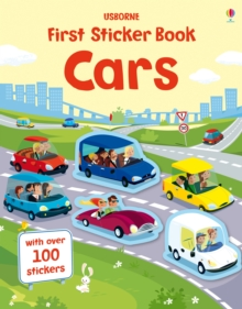 First Sticker Book Cars, Paperback
