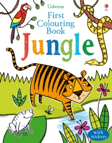 First Colouring Book Jungle, Paperback