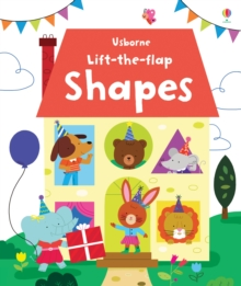 Lift the Flap Shapes, Board book