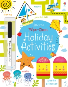 Wipe-Clean Holiday Activities, Paperback