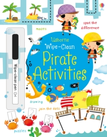 Wipe-Clean Pirate Activities, Paperback