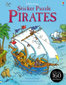 Sticker Puzzle Pirates, Paperback Book