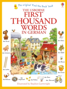 First Thousand Words in German, Paperback