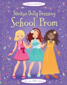 Sticker Dolly Dressing School Prom, Paperback Book