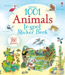 1001 Animals to Spot Sticker Book, Paperback Book