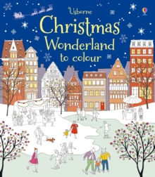Christmas Wonderland to Colour, Paperback