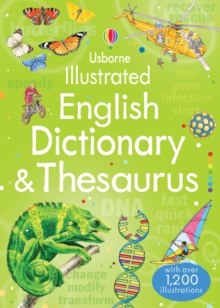Illustrated English Dictionary & Thesaurus, Paperback Book