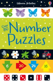 Over 80 Number Puzzles, Paperback