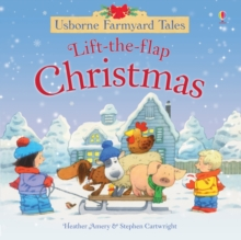 Farmyard Tales Lift the Flap Christmas, Hardback Book