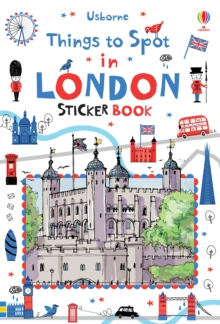 Things to Spot in London Sticker Book, Paperback