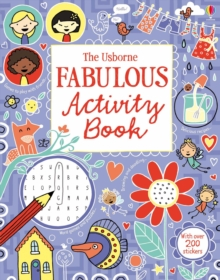 The Usborne Fabulous Activity Book, Paperback