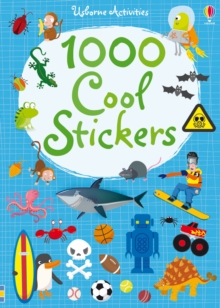 1000 Cool Stickers, Paperback