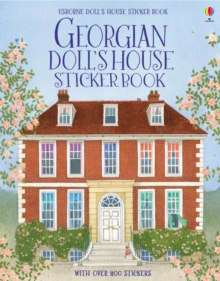 Georgian Doll's House Sticker Book, Paperback