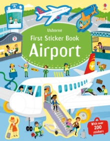 First Sticker Book Airports, Paperback