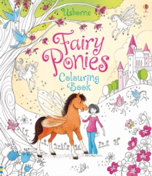 Fairy Ponies Colouring Book, Paperback