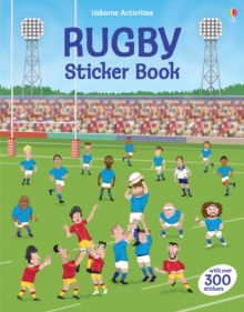 Rugby Sticker Book, Paperback