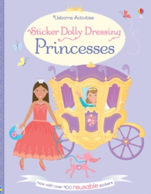 Sticker Dolly Dressing Princesses, Paperback