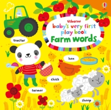 Baby's Very First Play Book Farm Words, Board book