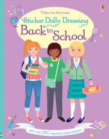 Sticker Dolly Dressing Back to School, Paperback