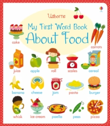 My First Word Book About Food, Board book