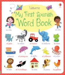 My First Spanish Word Book, Board book