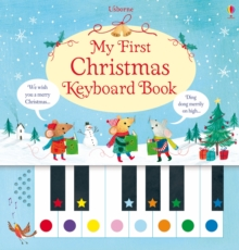 My First Christmas Keyboard Book, Hardback Book