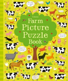 Farm Picture Puzzle Book, Hardback