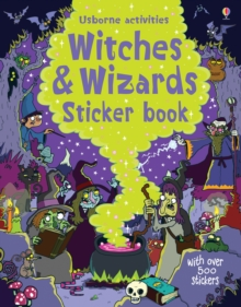 Witches and Wizards Sticker Book, Paperback