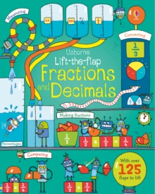 Lift-The-Flap Fractions and Decimals, Board book