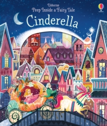 Peep Inside a Fairy Tale Cinderella, Board book
